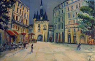 Peinture Porte Cailhau (Bordeaux)