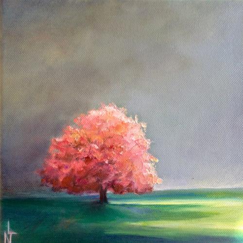 peinture arbre petit format