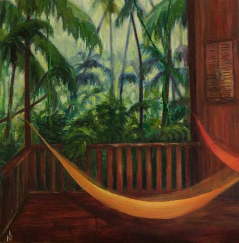 """Peinture """"Costa Rica"""""""