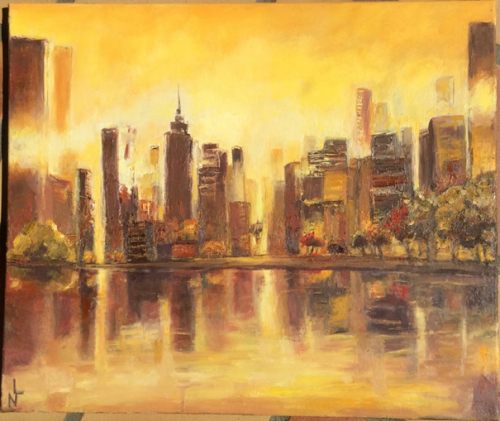 "Peinture ""New York"""